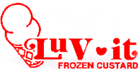 Luv-It Frozen Custard, Logo